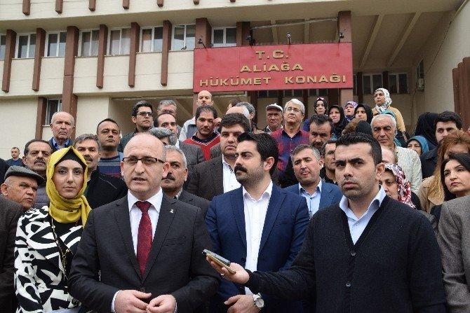 AK Parti Aliağa Teşkilatından Kılıçdaroğlu'na Suç Duyurusu