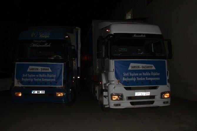 AK Parti'den Terör Mağdurlarına Yardım