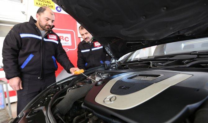 3500 cc'lik lüks otomobile LPG dönüşümü