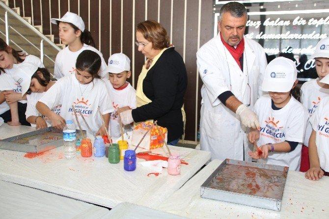 Büyükşehirden Çocuklara Ebru