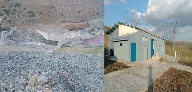 Büyükşehir, Karayazı'ya Arıtma Tesisi Ve İsale Hattı Yaptı