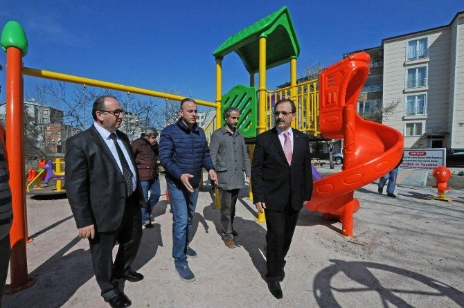 Bafra'da Engelli Parkı