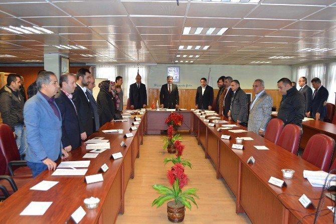 Muş Belediye Meclisi Toplantısı Yapıldı