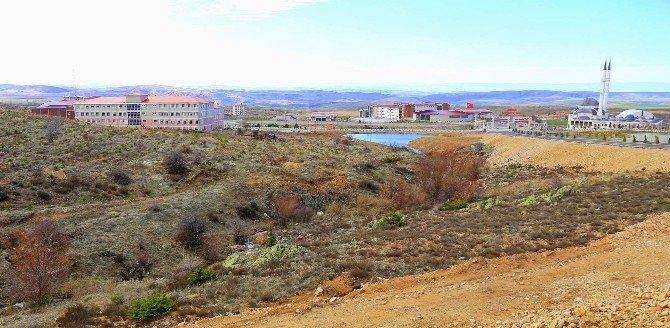 Bozok Üniversitesi Kampüs Alanına Gölet Yapılacak