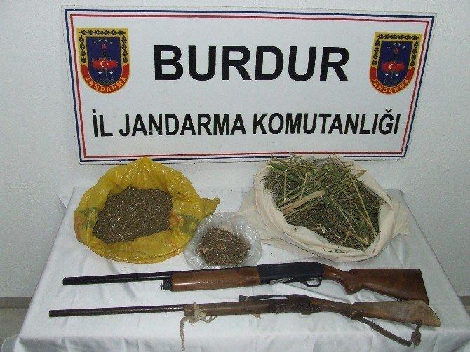 Burdur'da Jandarma, İki Ayda 336 Şüpheli Hakkında İşlem Yaptı