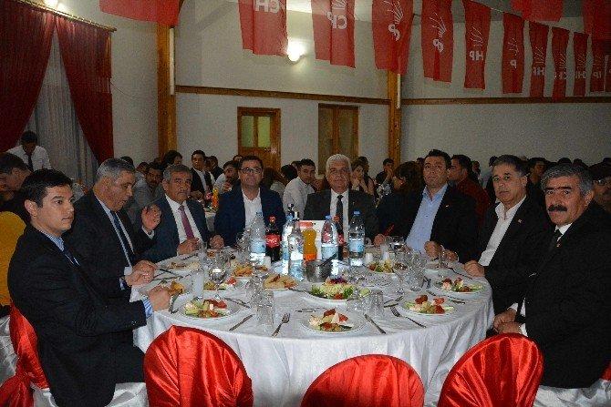 CHP'liler Dalaman'da Dayanışma Yemeğinde Buluştu