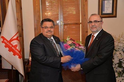 Muhasebecilerden Belediye Başkanı Selim Yağcı'ya Ziyaret