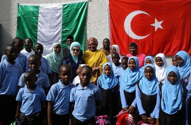 Emine Erdoğan Nijerya'da Yetimhane Açılışı Yaptı