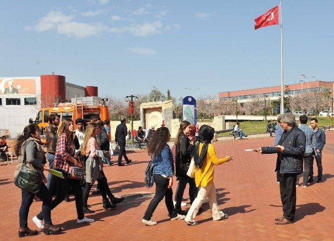 Aydın AFAD, Üniversite Öğrencilerini Bilgilendirdi