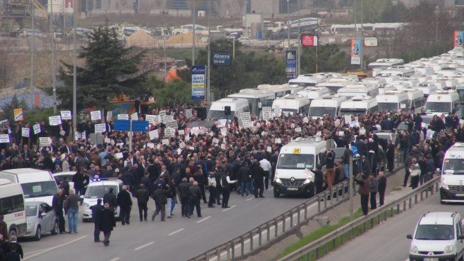 E-5'te Kadir Topbaş eylemi