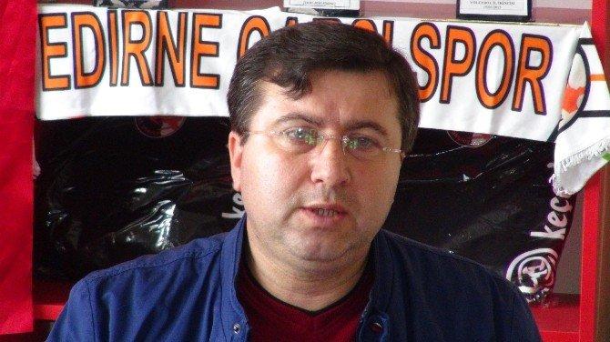 Edirne Çarşı Spor'un Hedefi 2'nci Lig