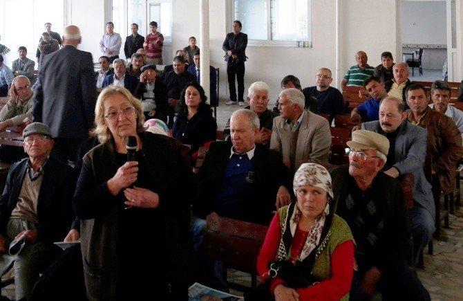 Başkan Tollu, Mahalle Toplantılarında Sorunları Dinliyor