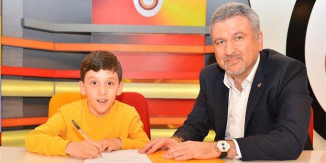 Galatasaray'dan anlamlı sözleşme