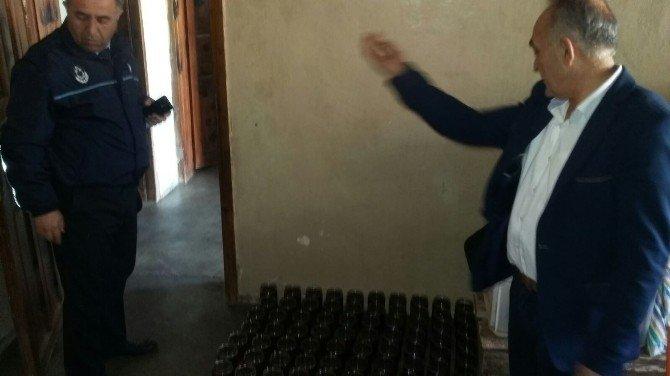 İslahiye'de Sahte Bal Ve Zeytinyağı Ele Geçirildi