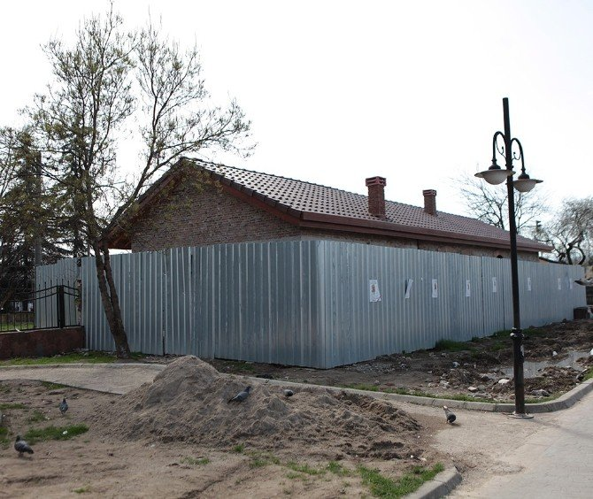 Geçit Bekçisi Eski Kulübesi Restore Ediliyor