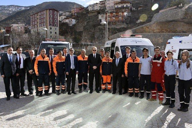 Gümüşhane'de Sivil Savunma Günü Ve Deprem Haftası Etkinlikleri