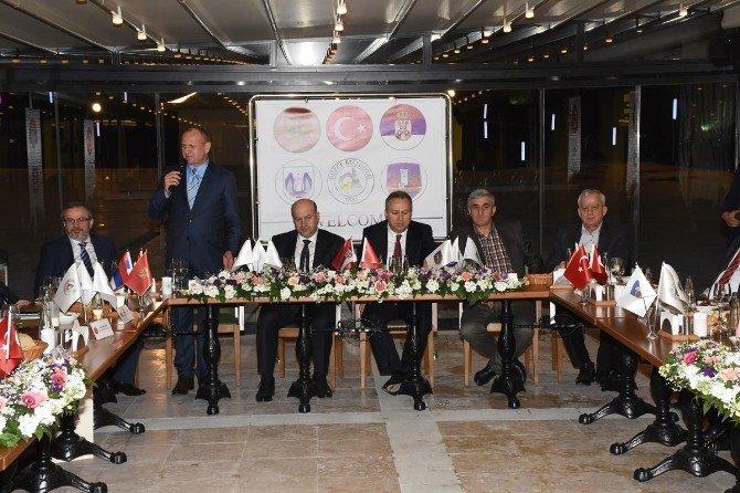 Karadağ Ve Sırbistan Heyeti İle Yemek Buluşması