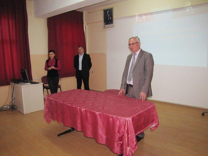 Hisarcık'ta 'Bilinçli Veli, Doğru Tercih' Projesi