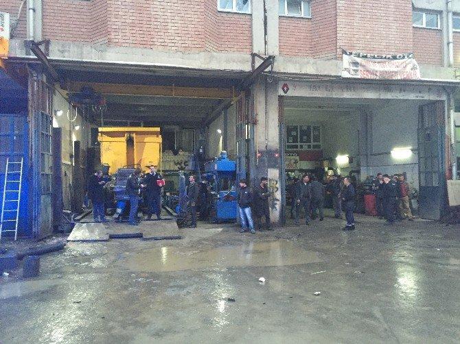 Başakşehir'de Silahlı Saldırı: 1 Polis Yaralı