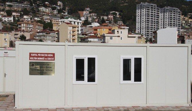 Başkan Altınok Öz'den Pir Sultan Abdal Kültür Derneği'ne Destek