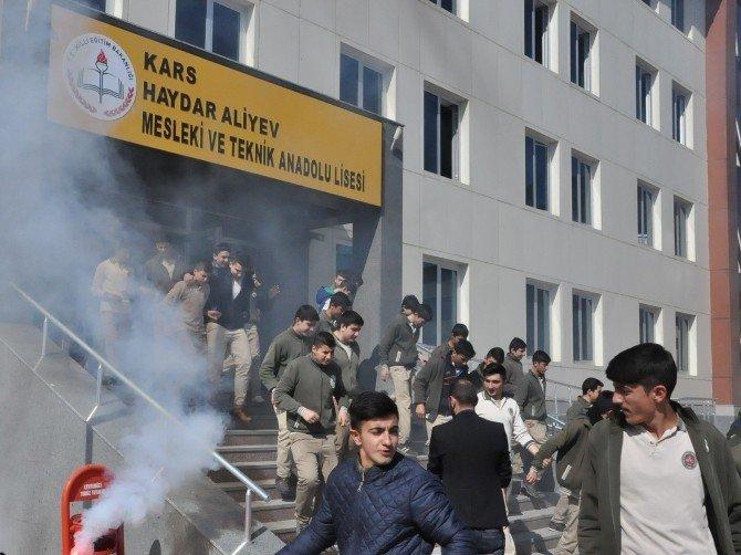 Kars'ta Nefes Kesen Deprem Tatbikatı