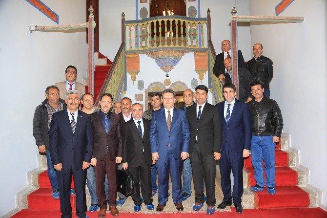 Talas'ta Toplu Sözleşme Sevinci
