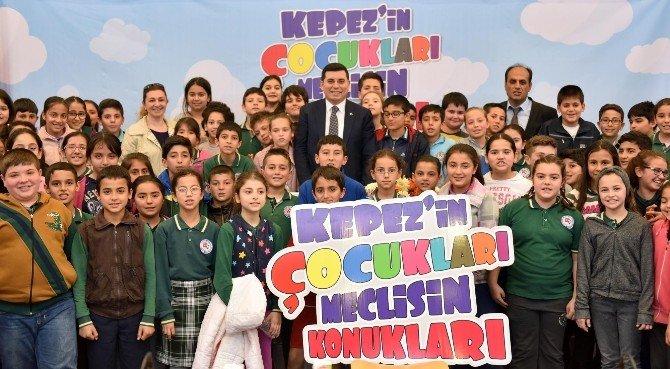 Kepez Belediye Meclisine, Çocuk Meclisi Katılacak