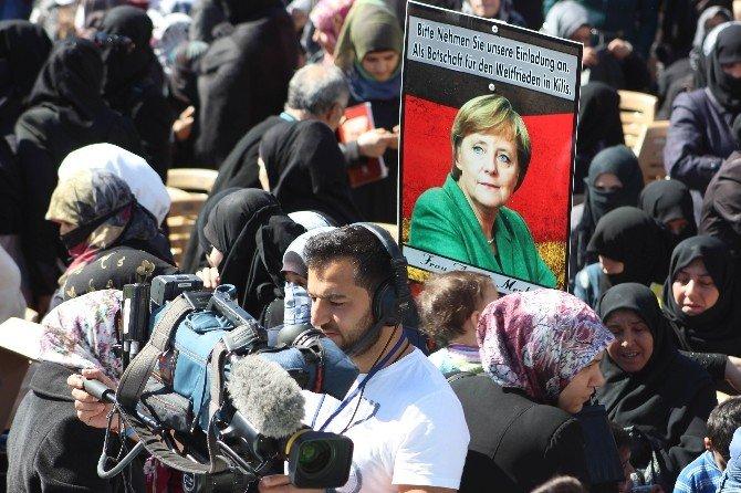 Almanya Başbakanı Angela Merkel, Rekor Denemeli Davetiyeyle Kilis'e Davet Edildi