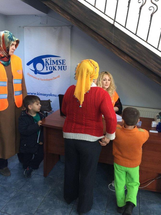 Kimse Yok Mu, Trabzon'da 104 aileye kırmızı et dağıtıyor