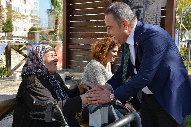 Kanyaaltı Belediyesi'nden Şehit Aileleri İçin Kermes
