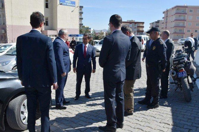 Şehit Polis İçin Taziye Ziyareti