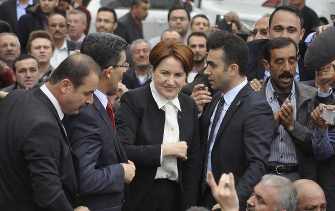 Meral Akşener Aksaray'da