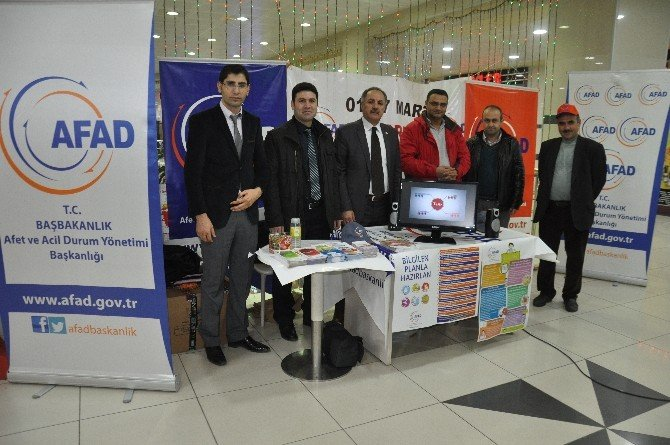 Muş'ta Deprem Haftası Etkinlikleri Başladı