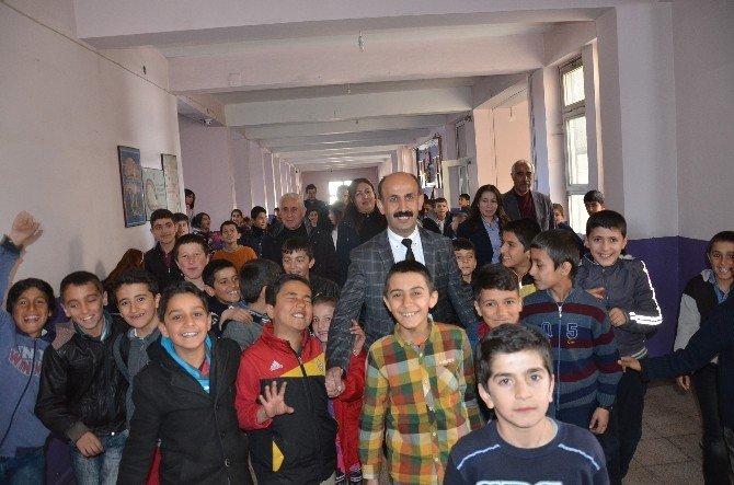 HDP'li Akdoğan'dan Okul Ziyaretleri