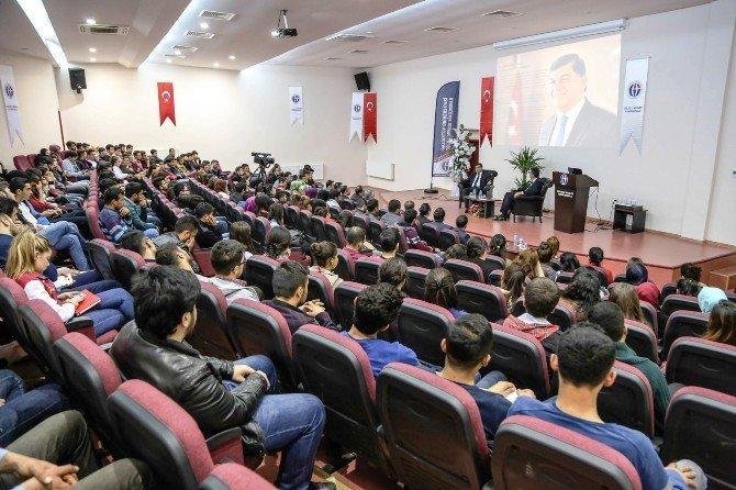 Başkan Fadıloğlu, Deneyimlerini Paylaştı