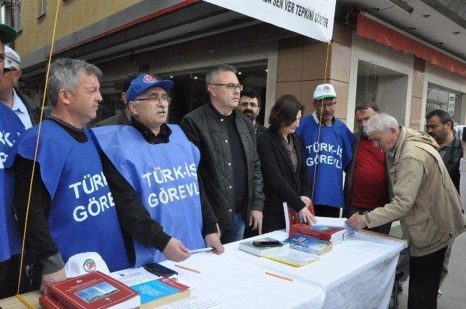 Uşak'ta Kiralık İşçiye Karşı İmza Kampanyası