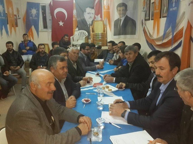 AK Parti Seyitgazi İlçe Danışma Toplantısı Yapıldı