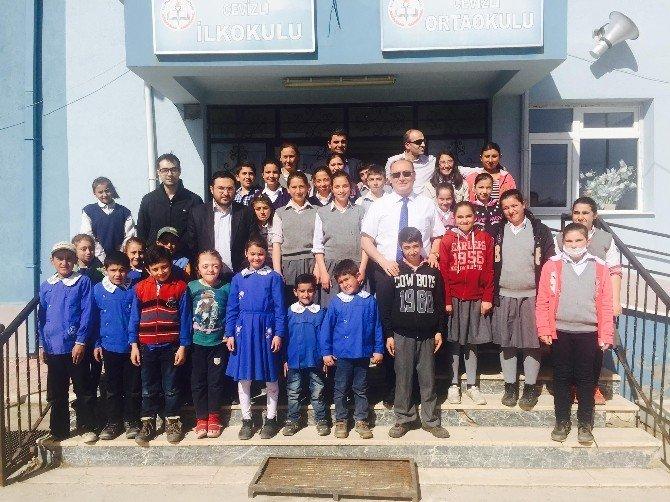 Seyitgazi İlçe Milli Eğitim Müdürü Avcı, Cevizli İlkokulu Ve Ortaokulu Ziyaret Etti