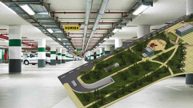 Sultangazi'de Park Ve Zemin Altı Otopark Projesine Start Verildi