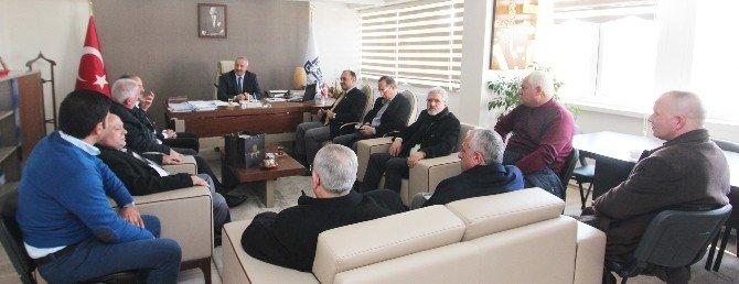 Aşkale Dernekleri Federasyonu, Başkan Vekili Tavlaşoğlu'nu Ziyaret Etti