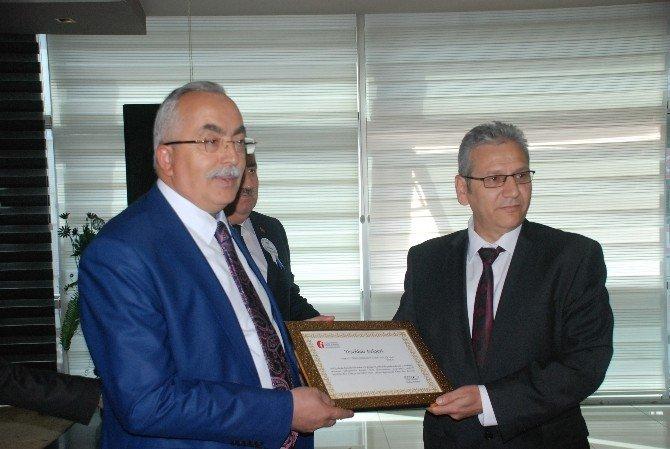 Tokat'ta Vergi Rekortmenlerine Teşekkür Belgesi