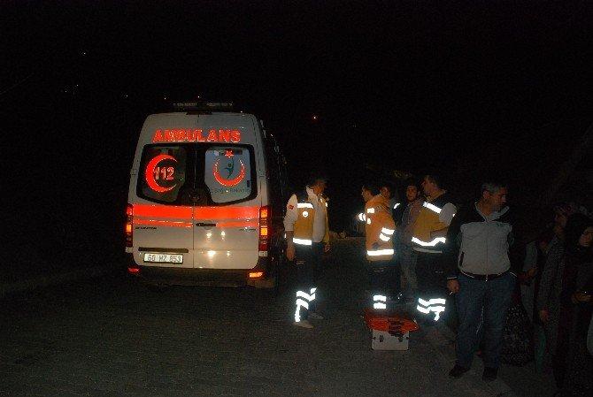 Tokat'ta Ev Yangını