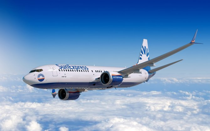 SunExpress'ten 1,1 milyar Euro gelir