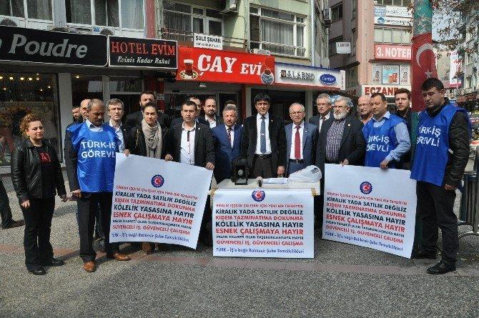 """Türk-iş'den """"Kiralık İşçi"""" Tepkisi"""