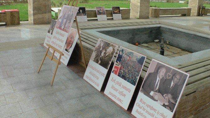 Erbakan İçin Resim Sergisi Düzenlendi