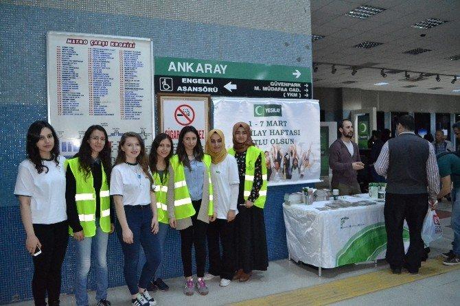 Yeşilay'dan Milletvekili Kavuncu'ya Ziyaret