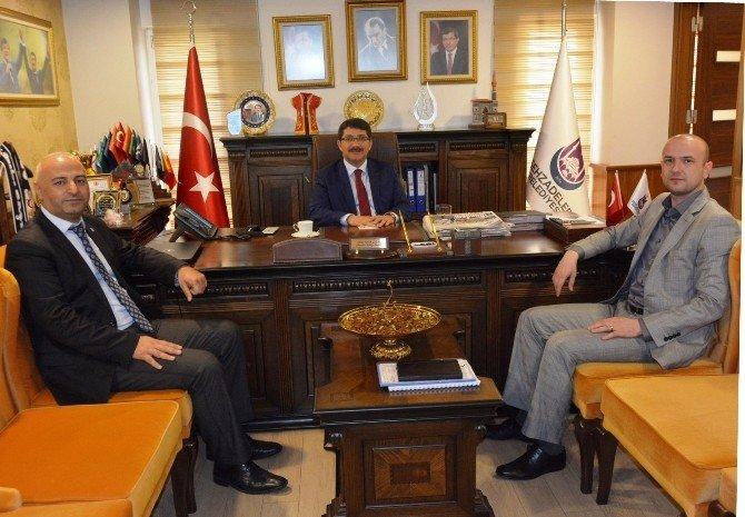 Başkan Yardımcısı Avşar'dan Başkan Çelik'e İade-i Ziyaret