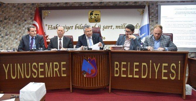 Yunusemre Meclisi Veli Doğdu Başkanlığında Toplandı