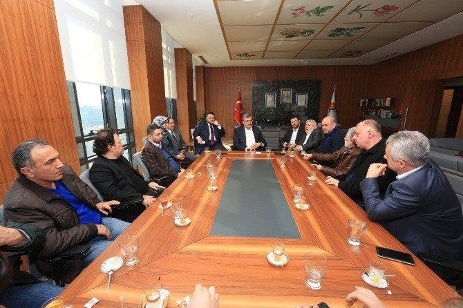 Başkan Aydın'dan Zeytinburnu Stadyumu Müjdesi