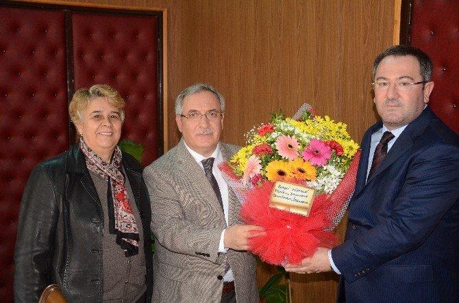 Bilecikli Rumelilerden Vali Nayir'e Ziyaret